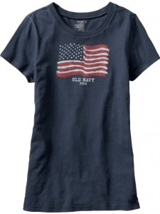 Old Navy Flaf T-shirt