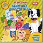 walgreens children's activity book