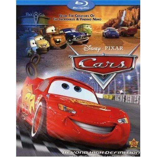 Cars Blu-Ray Movie