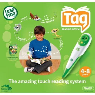 Leapfrog Tag reading system