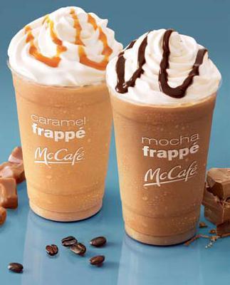 McDonalds Mocha Frappe
