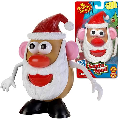 Santa Mr. Potato Head