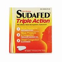 Sudafed Triple Action