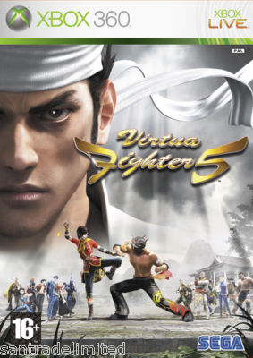 Virtua Fighter 5 Xbox 360 Game SEGA