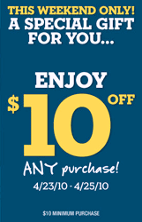 picture about Aeropostale Printable Coupon titled Aeropostale: $10 off $10 Printable Coupon - Hunt4Freebies
