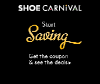 graphic relating to Shoe Carnival Printable Coupons known as Shoe Carnival Printable Coupon - Receive Marvel Financial savings