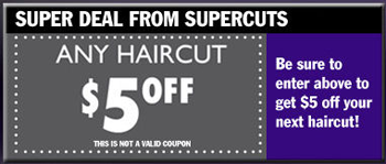 Supercuts is offering a $5 off Any Haircut Printable Coupon (PDF) Here is the direct link to the coupon! You can enter a contest as well! Expires 7/31