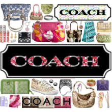 Coach logo w220 h220 Coach Factory: 30% off Purchase Printable Coupon