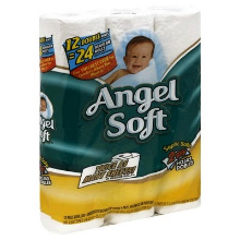 angelsoft w220 h220 $1 off Angel Soft Toilet Paper Printable Coupon