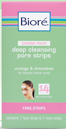 image about Printable Biore Coupons named $5 off Biore Combo Pack Deep Cleaning Pore Strips Printable