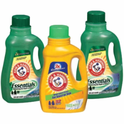 Arm and Hammer Laundry Detergent w250 h250 $1.25 off Arm & Hammer Laundry Detergent Printable Coupon