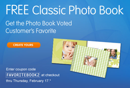 Classic Photo Book FREE Classic Photo Book at Walgreens (Just pay Shipping)