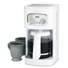 Cuisinart Coffeemaker Amazon: Cuisinart 12 Cup Programmable Coffeemaker in White $24.88