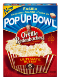 Pop Up Bowl $1 off Orville Redenbacher Pop Up Bowl Printable Coupon