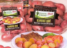 Green Giant Klondike Potatoes w270 h270 $1 off Green Giant Klondike Gourmet Red Yellow Mini Potatoes Coupon