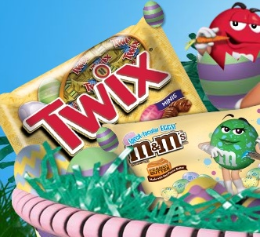 Mars Easter Candy w260 h260 $1 off ANY 2 Mars Easter Candy Printable Coupon