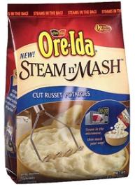 OreIda Steam n Mash Frozen Potatoes w270 h270 $1 off ANY Ore Ida Steam n Mash Frozen Potatoes Printable Coupon