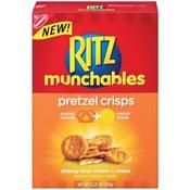 Ritz Munchables Pretzel Rounds w270 h270 $1 off Ritz Munchables Pretzel Rounds Printable Coupon