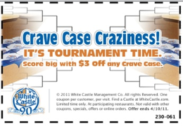 picture relating to White Castle Printable Coupons identified as White Castle: $3 off ANY Crave Circumstance Order Printable