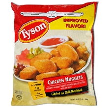 Tyson Chicken Nuggets Save $1.00 on Tyson Chicken Nuggets Printable Coupon