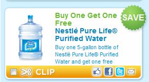 Nestle Pure Life Water BOGO FREE Printable Coupon - Hunt4Freebies