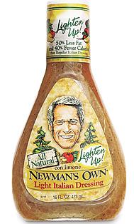 Newman salad dressing