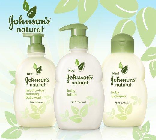 Johnson Johnson Products Johnson's Natural Product
