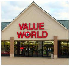 Value World Value World: 50% off Purchase Coupon