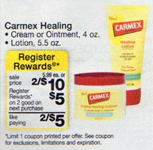 Wags Carmex Carmex Lip Balm and Skin Care Coupons + Walgreens Deal