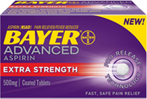 Bayer Advanced Aspirin 5 $1 off ANY Bayer Advanced Aspirin Product Coupon