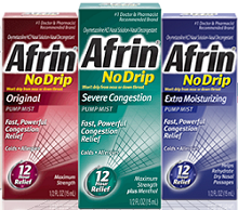 Afrin Nasal Spray $2 off ANY Afrin Nasal Spray Printable Coupon