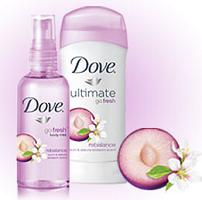 $2/2 Dove Go Fresh Deodorant + Body Mist Combo Coupon - Hunt4Freebies