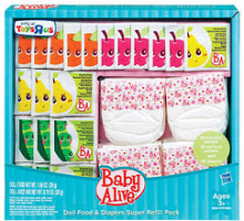 image regarding Alive Printable Coupon named $3/2 Little one ALIVE Foodstuff, Juice, Diaper Refill Packs Printable