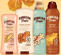Hawaiian Tropic Products $1 off Hawaiian Tropic Product Coupon