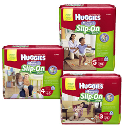 Huggies Slip Ons1 $2 off ANY Huggies Diapers, Pull Ups Training Pants or Goodnites Coupon