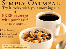 image regarding Peet Coffee Printable Coupon identified as Peets Espresso: Free of charge Beverage with Quickly Oatmeal Obtain