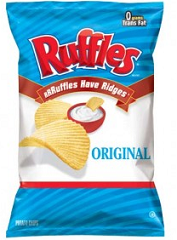 Ruffles Chips $1 off Ruffles or Sunchips Printable Coupon  Working Again!