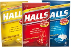 halls cough drops  $1/2 Halls Cough Drops Printable Coupon