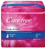 Carefree Pantiliners NEW Coupons: Stayfree, Carefree and OB Products