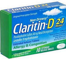 graphic regarding Claritin Printable Coupon referred to as $4 off Claritin-D Allergy Printable Coupon - Hunt4Freebies
