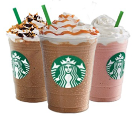 Starbucks Frappuccino11 Starbucks: 50% off Frappuccino Blended Beverage (5/4 5/13)