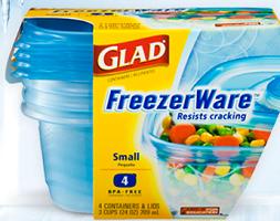 Glad FreezerWare Product $1/1 Glad FreezerWare Product Coupon
