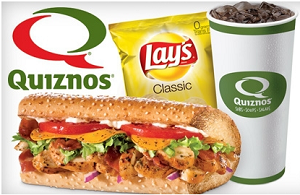 Quiznos Meal1 Quiznos: $2 off Large Sub and $1 off Regular Sub or Salad Coupon