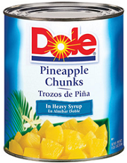 Dole Pineapple $0.50 off 2 Cans of Dole Pineapple Coupon