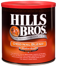 Hills Bros Coffee $1 off Hills Bros Coffee Coupon