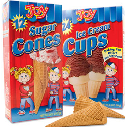 Joy Ice Cream Cones1 $0.55 off Joy Ice Cream Cones Coupon