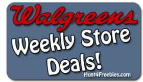 Walgreens Store Deal 6 17 Walgreens Freebies and Deals For 6/17 to 6/23