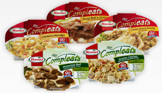 Hormel Compleats $1 off Hormel Compleats Microwave Meal Coupon