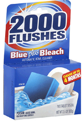 2000 Flushes Toilet Bowl Cleaner $1 off 2000 Flushes Toilet Bowl Cleaner Coupon