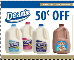 Deans or TruMoo Milk Coupon $0.50 off Gallon of Deans or TruMoo Milk Coupon